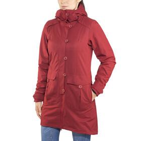 Bergans Bjerke 3in1 Coat Women Outer:Burgundy/Inner:Dark Navy